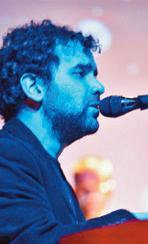 El cantautor Raül Beneitez