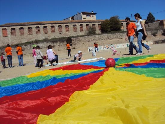 Activitats durant la festa de Primavera de l'Escola Barnola