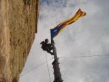 El CEA renova l'estelada de la Torre delsSoldats