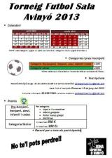 El 12 de juny es tanquen les inscripcions del Torneig d'estiu de futbolsala