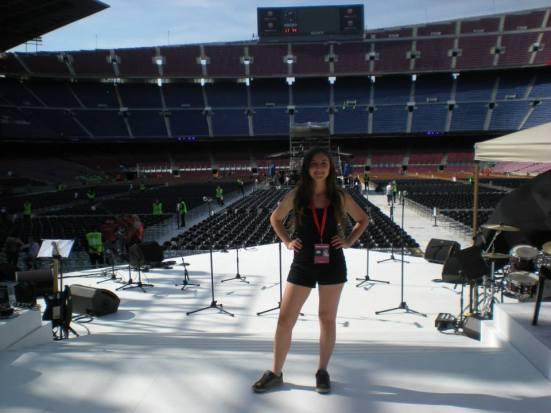 L'Alba Careta a l'escenari del Camp Nou