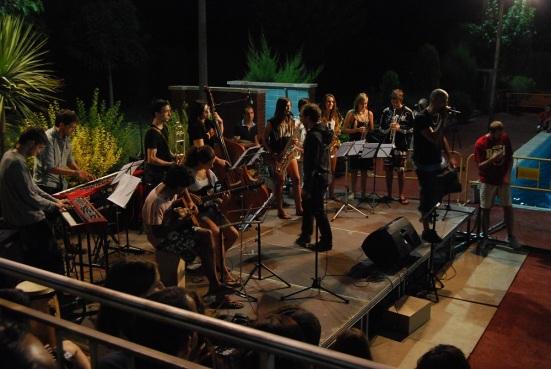 at versaris actuant als tallers musicals d'avinyó 2013