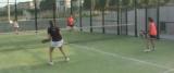 Mireia Herms i Eva Carrera guanyen la final femenina del torneig de pàdeld'Avinyó