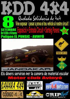 Quedada solidària Motor Club Punsic