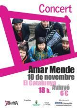 Amar Mende presenta a Avinyó la seva particular fusió d'estils catalans irussos